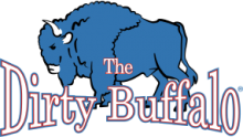 The Dirty Buffalo footer logo